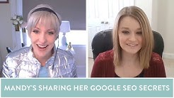 How Mandy's killing it with her Google SEO strategy - SEO Tips- Starting a maker handmade business
