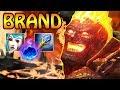 BRAND SUPPORT - Lane Zerstörung vom feinsten   LOL Gameplay