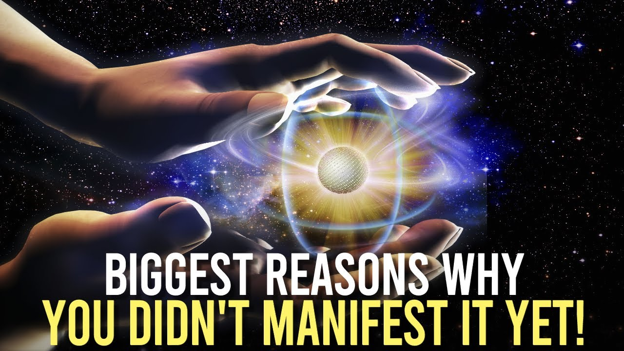 3 Reasons You're Not Manifesting (law of attraction)