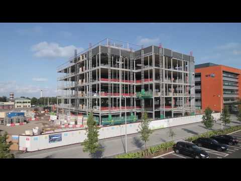 West Bromwich Building Society New Headquarters Construction Timelapse
