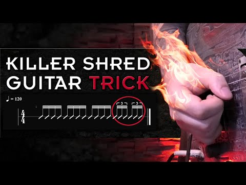 How To Play Much Faster | Alternate Picking Exercise