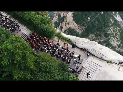 شاهد: حفل موسيقي صيني على قمة جبل هواشان الشاهقة يتيح متعة بصرية فائقة…  - نشر قبل 6 ساعة