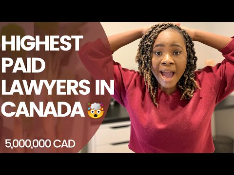 WHO ARE THE HIGHEST PAID LAWYERS IN CANADA | WHICH AREAS OF LAW ARE IN DEMAND IN CANADA
