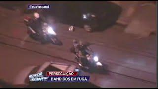 Perseguição - Policial Executa Motoqueiro ao Vivo  -  Brasil Urgente - 23/06/2015