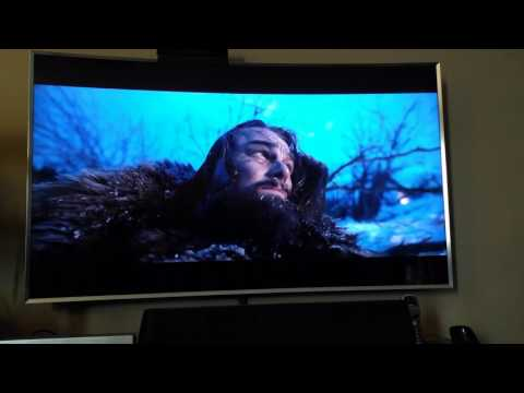 The Revenant 4k Review vs Blu-ray upscaled - Samsung K8500 4k Blu-ray player HDR - JS9500