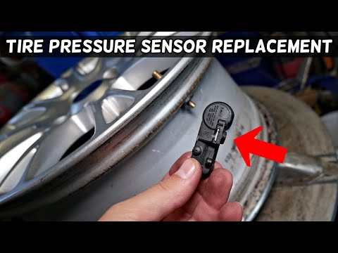 HOW TO REPLACE TIRE PRESSURE SENSOR ON FORD. WHERE IS THE TPMS SENSOR AND HOW TO REPLACE TPMS SENSOR