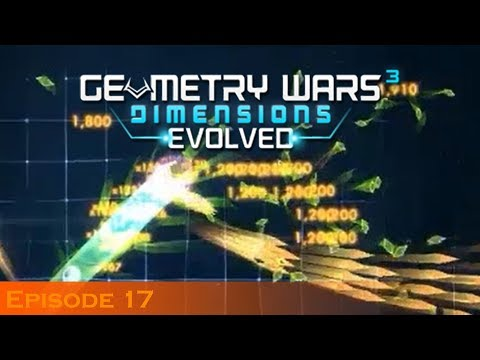 Yeah, This Won't Go Well...   Geometry Wars 3: Dimensions Evolved (Episode 17)  