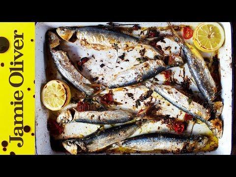 Roasted Sardines | Jamie Oliver