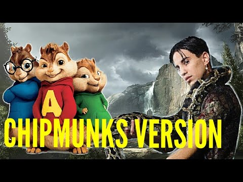 || CHIPMUNKS VERSION || Tedua - La Legge Del Più Forte ( Prod. Chris Nolan )