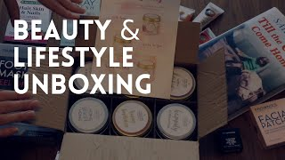 Relaxing Beauty and Lifestyle Unboxing