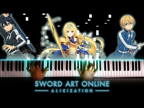 "[Sword Art Online: Alicization OP] ""ADAMAS"" - LiSA (Piano)"