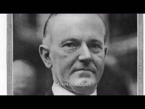 Calvin Coolidge no 30. Silent Cal