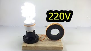 New Awesome Free Energy Generator By Magnet 100% At Home