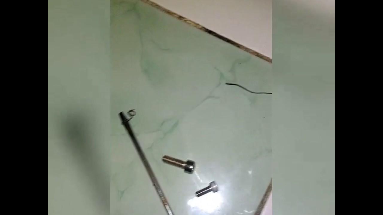 Mewarnai baud logam menggunakan kompor