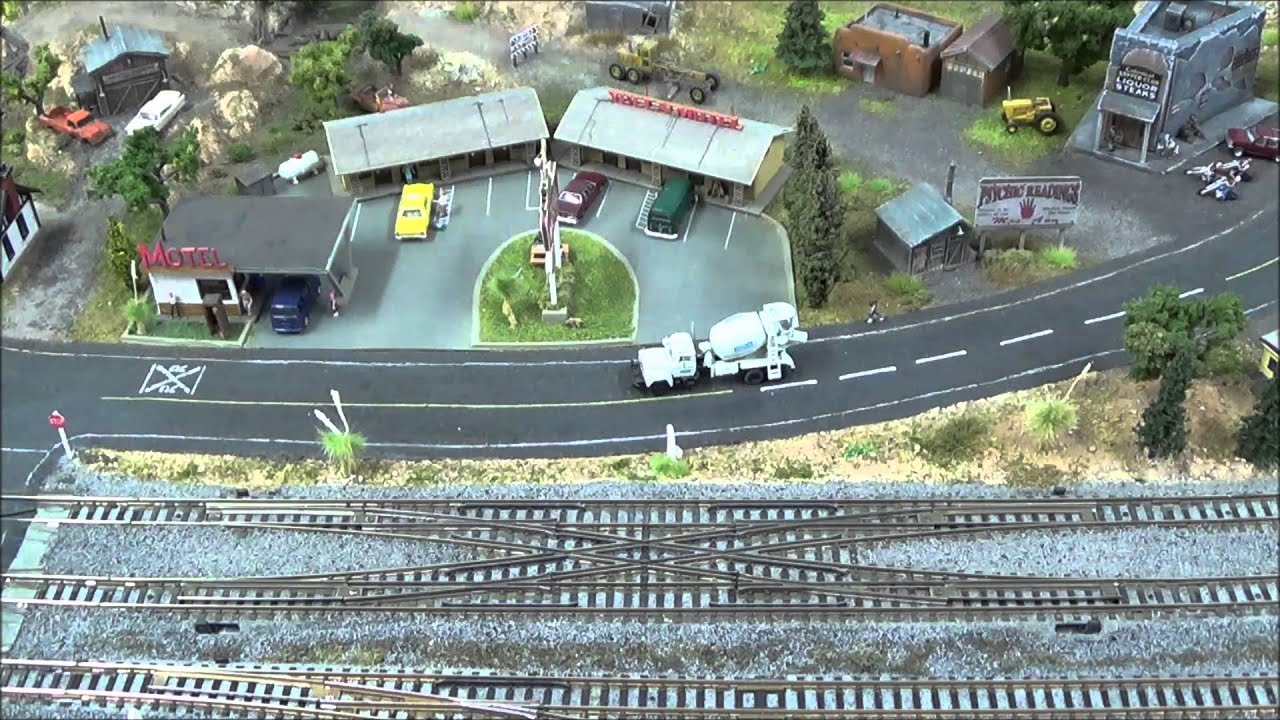 n scale kato double crossover how to [ 1280 x 720 Pixel ]