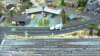 N Scale Kato Double Crossover How To
