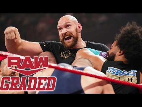 WWE RAW: GRADED (7 Oct) | Tyson Fury & Braun Strowman Brawl, Hell In A Cell 2019 Fallout