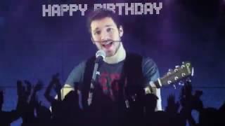 С днём рождения Александр (Видео поздравления)