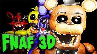 FNAF 3D на РУССКОМ ЯЗЫКЕ с РУССКОЙ ОЗВУЧКОЙ !!! + ССЫЛКА на ИГРУ ФНАФ 3D
