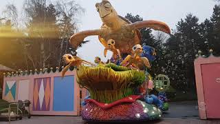 Disney stars On Parade (Disneyland Paris 11/01/2018)