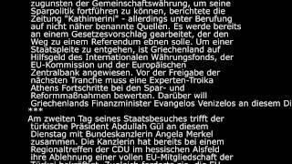 deutsch lernen 20.09.2011 Langsam gesprochene Nachrichten