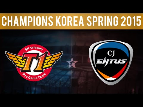 SKT vs CJ, Game 4 | LCK Spring 2015 - Playoffs | SK Telecom T1 vs CJ Entus