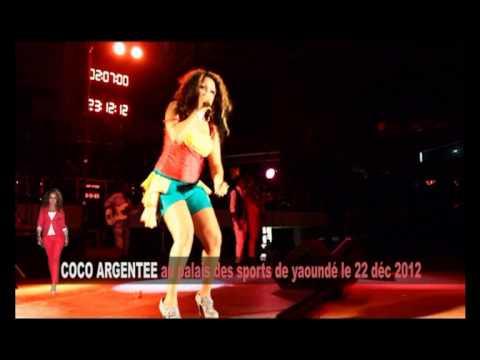 Coco Argentée Mbanze  Palais des sports de Yaoundé 22-12-2012  J'ai envie de faire...