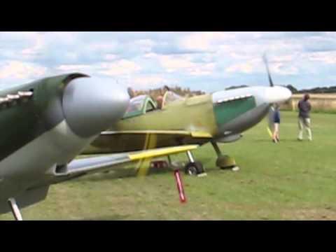 Enstone Spitfires engine runs