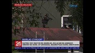 Dating vice mayor ng Marilao, Bulacan na armado umano ng baril at granada, nagmatigas nang arestuhin