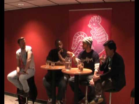 Artist talk at TUPP with Lemon Andersen, Beau Sia & Poetri part 2