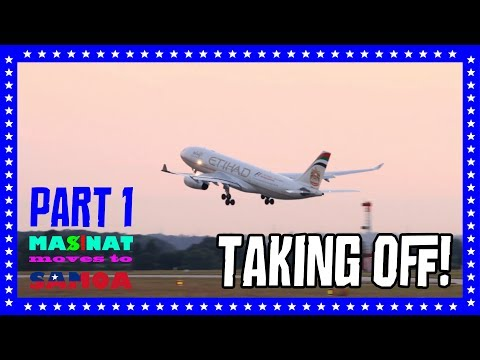 MasinaT moves to Samoa part 1 - Taking off!