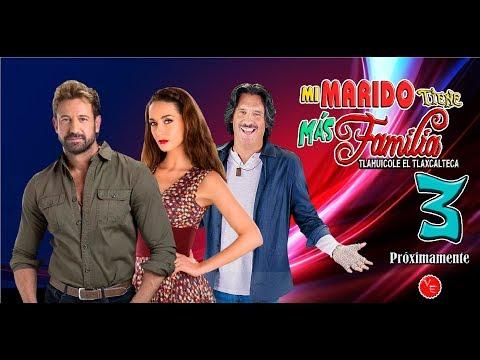 Tercera temporada de Mi Marido Tiene + Familia con Gabriel Soto, Susana Gonzalez y Arath DeLa Torre