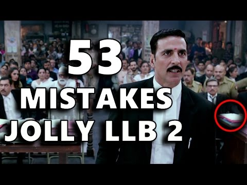 53 MISTAKES IN JOLLY LLB 2 | MISTAKES...