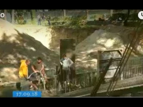 ТРК ВіККА: У черкаському парку почали заливати фундамент під колесо огляду