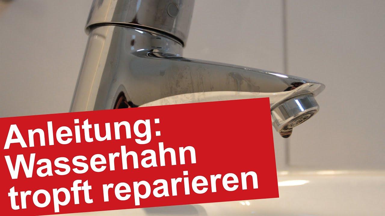 Wasserhahn Tropft Reparieren Entkalken Von Duse Bzw Perlator