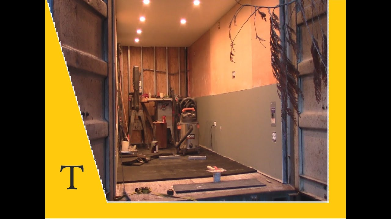 Shipping Container Conversion Series Video 17 Insulation