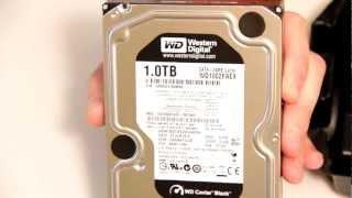 Western Digital Cavair Black 1TB 7200 RPM Model# WD1002FAEX