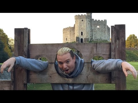 James Ellsworth explores Cardiff, Wales
