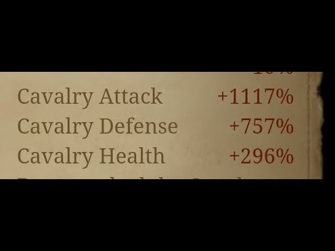 GETTING OVER 1400 CAV ATTACK!! - How/Where To Increase Your Cavalry Attack