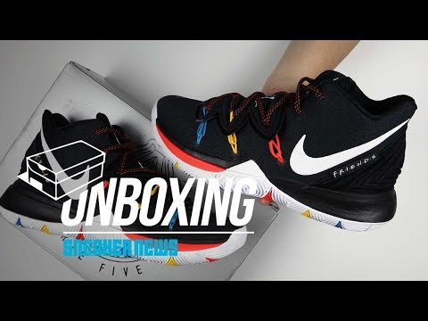 Friends Kyrie 5 Unboxing + Review