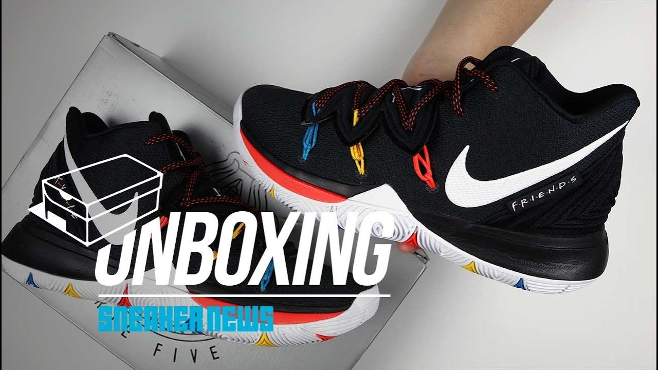 Friends Kyrie 5 Unboxing + Review - YouTube