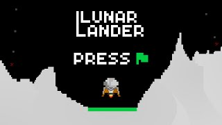 Dixiklo's Lunar Lander - Full Playthrough