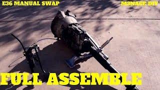 Assembling The Swap Outside: E36 Manual Swap