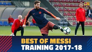 Messi's best moves in training during ...