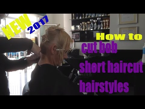 How to cut bob short haircut hairstyles 2017, bob haar kapse