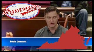Fairfax County Virginia 2nd Amendment Sanctuary County Speech: Civil War