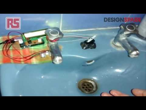 Arduino + Ultrasonic sensors for Automatic Tap Control