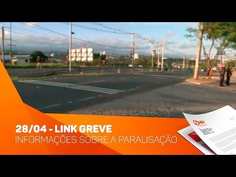 Link 28/04 - Greve Informações sobre a paralisação - TV SOROCABA/SBT