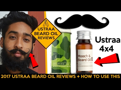 Ustraa 4x4 Mooch And Beard Oil For Men 200 Ml At Low S In India
