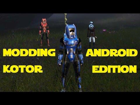 Modding KOTOR: Android Edition - Yavin IV (New Planet Mod) by Negative Zero